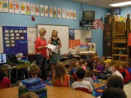 Blue Ridge Elementary School Advocating