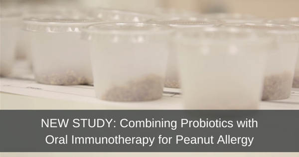 Probiotics food allergy study