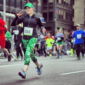Meghan Dolan running