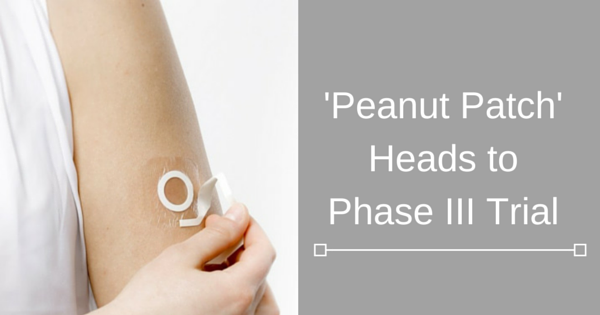 'Peanut Patch' Heads to Phase III Trial