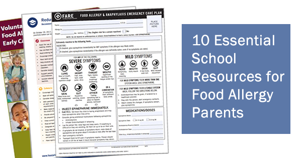 food allergy school resources