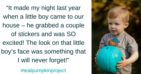 teal pumpkin quote