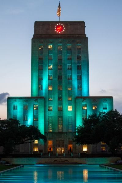 Houston City Hall - credit D'Andra Shu