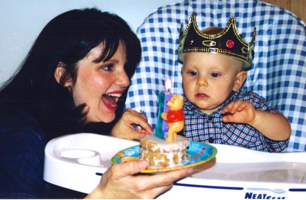 Daniel's first birthday